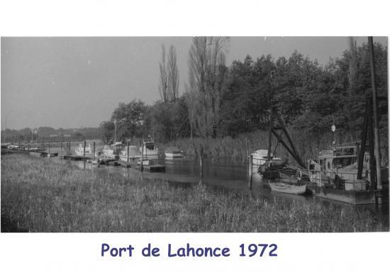 Port de Lahonce en 1972