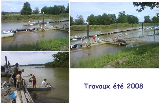 Travaux 2008