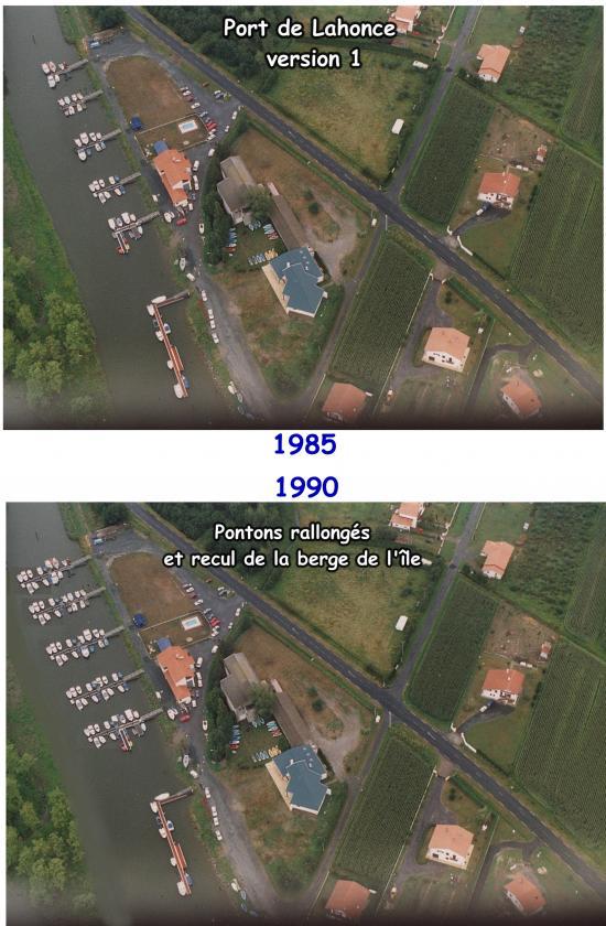 Port vu de dessus 1985-1990
