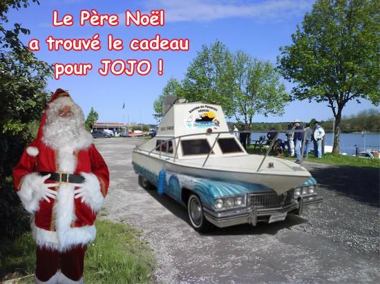 Le père Noël à Jojo