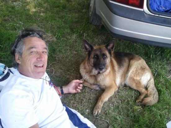 Monsieur et sa chienne