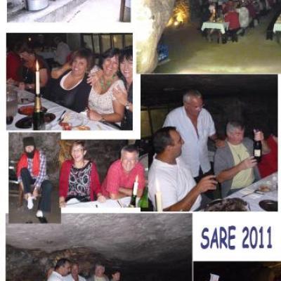 Sortie Grottes de Sare du 14 juillet 2011