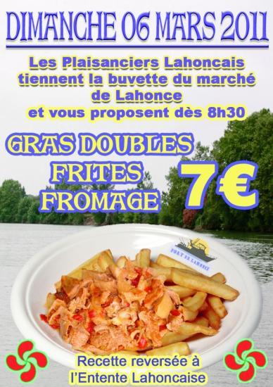 Marché de Lahonce