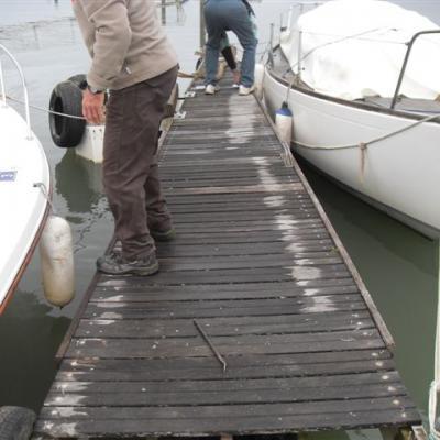 refection du ponton A 002