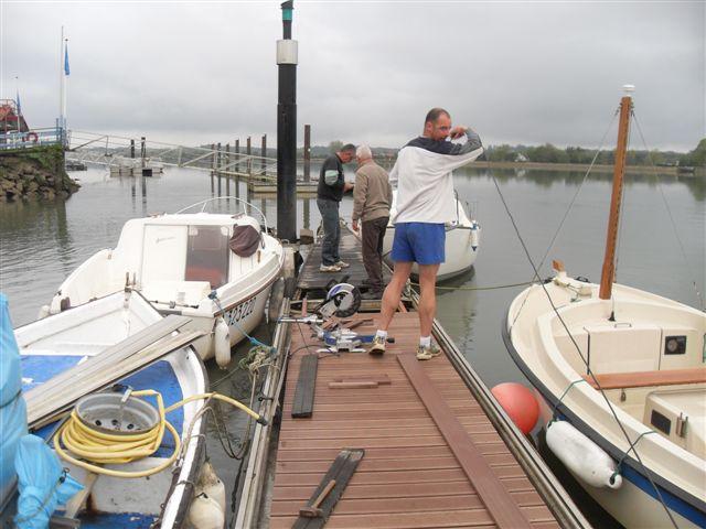 refection du ponton A 004