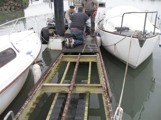 refection du ponton A 005