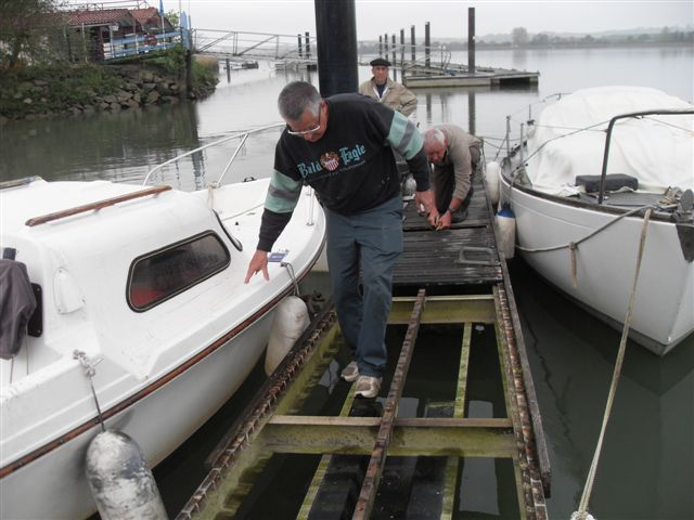 refection du ponton A 006