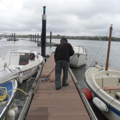 refection du ponton A 010