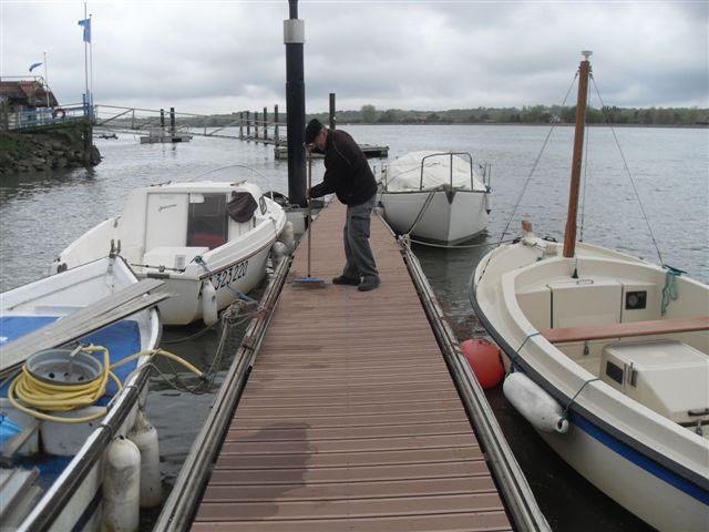 refection du ponton A 011
